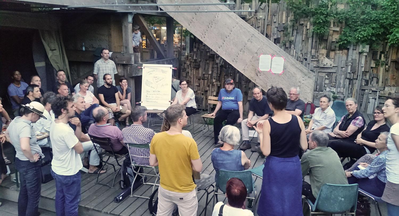 Berlin Mellifera Regionalgruppentreffen im Prinzessinnengarten