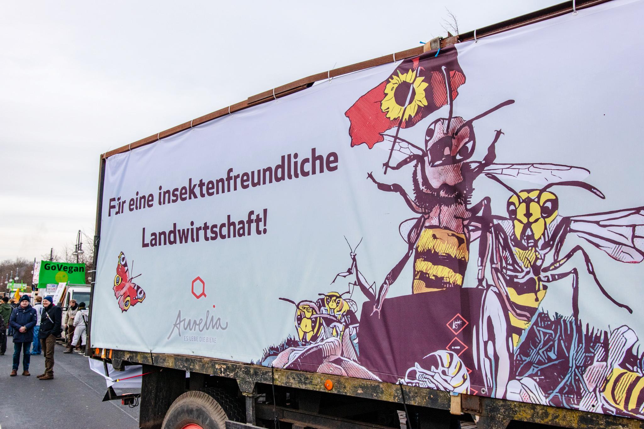 Wir haben es satt!-Demo 2020 · Design: salzundhonig · Foto: Florian Amrhein