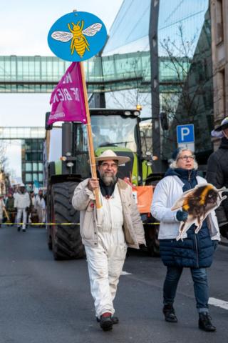 Wir haben es satt!-Demo 2020 · Foto: Florian Amrhein