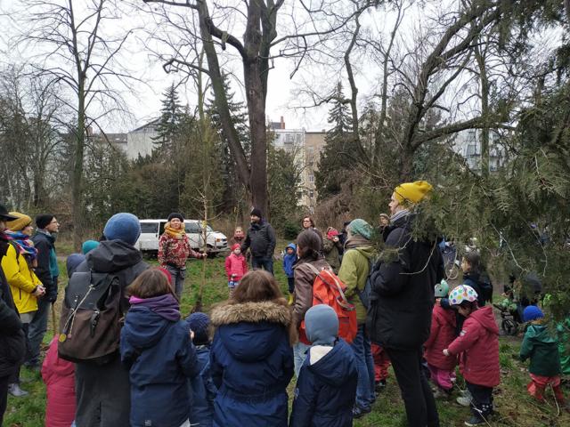 Pflanzung Leisepark · Foto: Mathias Kraatz