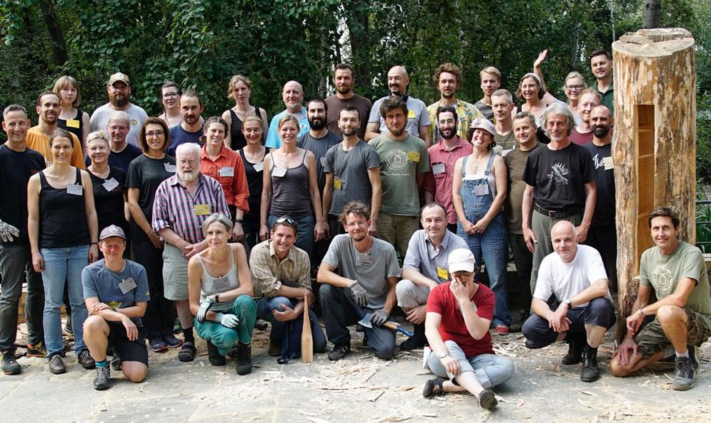 Der Zeidlerei Workshop von Learning from The Bees 2019 - Foto: Patrick Lindhof