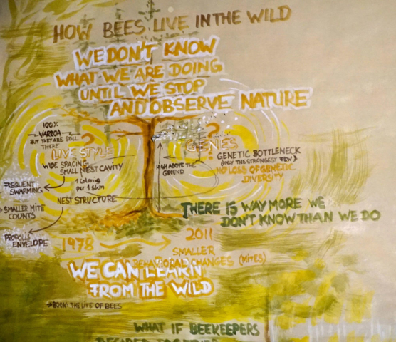 Generative-Scribe Mural von Olaf Baldini · Foto: Patrick Lindhof