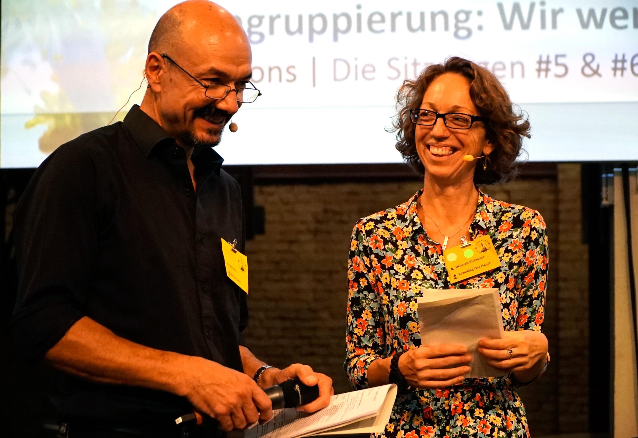 LFTBB Conference, Heinz Risse & Deborah Richmond | Foto: Patrick Lindhof