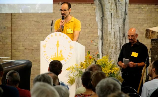LFTBB Conference, Steve Rogenstein & Heinz Risse | Foto: Patrick Lindhof