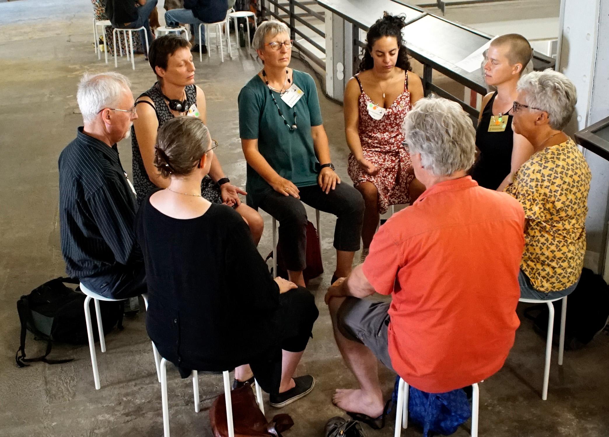LFTBB Conference, Bee meditation | Foto: Patrick Lindhof
