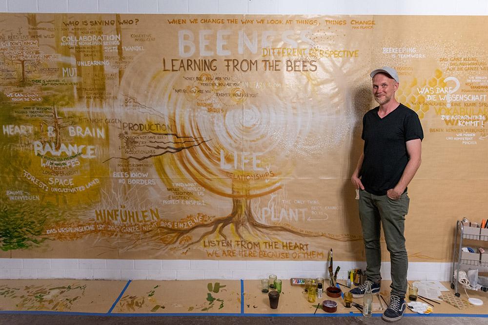 LFTBB Conference, Artist Olaf Baldini | Foto: Florian Amrhein